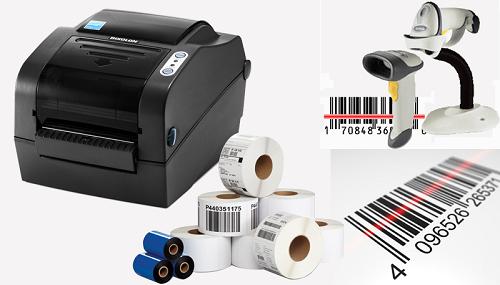 Máy in mã vạch giúp in mã vạch lên tem sản phẩm