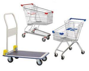 Review 4 loại xe đẩy hàng siêu thị phổ biến nhất thị trường hiện nay